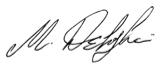 Signed Mo Dehghani