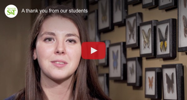 Watch this video on youtube: A thank you from our students