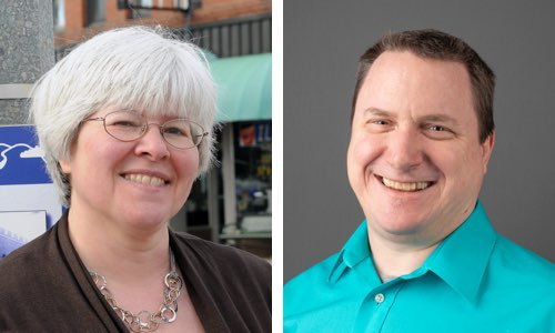 Dr. Suzanna Long and Dr. Steven Corns