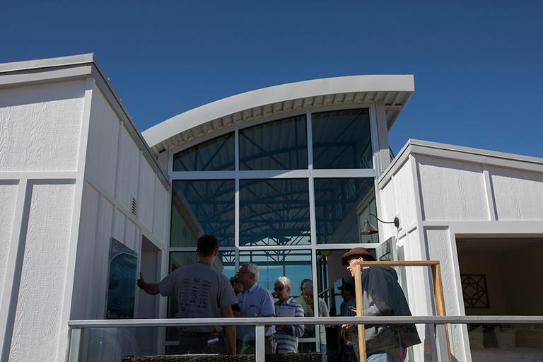 Silo, S&T's solar house