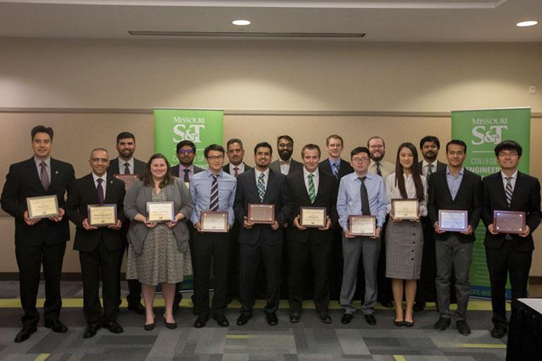 Ph.D. Scholars and Graduate Educator award recipients