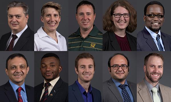 16 new faculty members